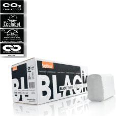 Satino Black Handdoekjes wit 1 laags, interfold ZZ-vouw, 20x23 cm, 4600 stuks per doos. MULTI MIRROR.